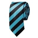 "TopTie Unisex New College Stripe Skinny 2"" Inch Necktie, Various Colors"