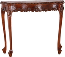 International Caravan 3846 Carved Console Table
