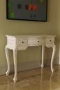 International Caravan 3979-AW Carved Vanity Desk, 31'' x 16'' x 37''