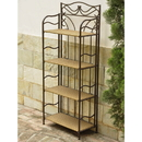"International Caravan 4121 Valencia 4-Tier 24"" Wide Plant Stand"