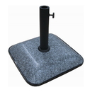 International Caravan Square Compound Granite Imprint Umbrella Base