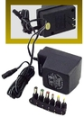 IEC ADD000500 Power Adapter - 110VAC input - 3 to 12VDC (selectable) 500mA output - Multi-connector