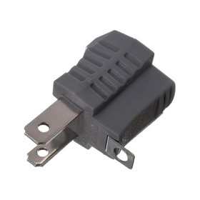 IEC ADP0004 AC Three Prong to 2 Prong Adapter for US Power Sockets