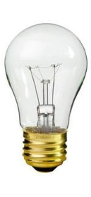 IEC ADP0105 Mini Light Bulb for E26 socket 120V 15 W Incandescent clear