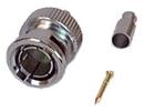 IEC BNC-RG179 BNC Male Coax Connector for RG179 75 Ohm