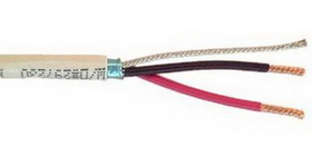 IEC CAB002-14SPSHPL 14 Gauge 2 Conductor Shielded Plenum Speaker Wire Priced by the Foot