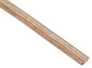 IEC CAB002-16SPKR 16 Gauge 2 Conductor Clear Speaker Wire Priced by the Foot