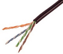 IEC CAB008-PH-UV-L5 24 Gauge 4 Pair Solid Category 5e Ultra II Outdoor Cable Priced by the Foot