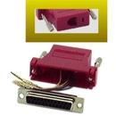 IEC DB25F-RJ1106-RD DB25 Female to RJ1106 Adapter Red