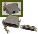 IEC DB25F-RJ4508 DB25 Female to RJ4508 Adapter Gray