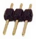 IEC HD1X03 PCB Header Pins 1x3