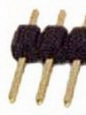 IEC HD1X06 PCB Header Pins 1x6