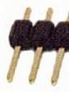 IEC HD1X07 PCB Header Pins 1x7