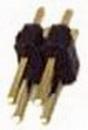 IEC HD2X02 PCB Header Pins 4 Pin (2x2)