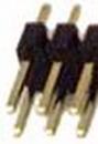 IEC HD2X22 PCB Header Pins 44 Pin (2x22)