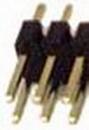 IEC HD2X25 PCB Header Pins 50 Pin (2x25)
