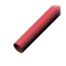 IEC HS3-4-RD Heat Shrink - 2 to 1 Shrink Ratio .75 Inch Red Priced by the Foot