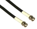 IEC L0326-50 RG6 Coax Cable With BNCs 50'