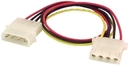 IEC L1068 5.25 inch Disk Drive Power Extension Cable 1 foot