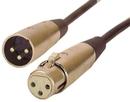 IEC L7212-50 3 Pin XLR Male to Female 50 feet