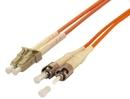 IEC L8150-01M LC to ST Duplex 62.5 ? Multimode Fiber Optic Cable 1 Meter