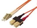 IEC L8153-05M LC to SC Duplex 62.5 ? Multimode Fiber Optic Cable 5 Meter
