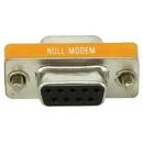 IEC M1393 DB9 Female to DB9 Female Null Modem Adapter