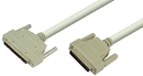 IEC M352009 SCSI Cable DB25 Male to DM68 Male 3'