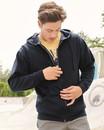 Independent Trading AFX4000Z Mens Zip Hooded Sweatshirt