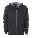 Independent Trading IND6000Z Mens Super Heavyweight Zip Hooded Sweatshirt