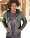 Independent Trading PRM33SBZ Unisex Special Blend Zip Hooded Sweatshirt