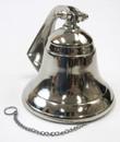 India Overseas Trading AL1843 Aluminum Ship Bell Small