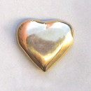 India Overseas Trading BR14470 - Heart of Gold, Solid Brass