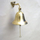 India Overseas Trading BR1843 - Brass Ship Bell