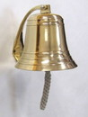 India Overseas Trading BR18453 - Solid Brass Heavy Bracket Ship Bell