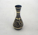 India Overseas Trading BR21023X - Black Etched Brass Vase