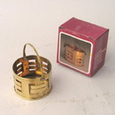 India Overseas Trading BR25273 - Brass Mini Basket
