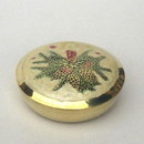 India Overseas Trading BR31326 - Brass Christmas Pin Box
