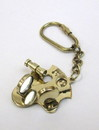 India Overseas Trading BR48201C - Sextant Key Chain