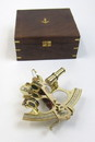 India Overseas Trading BR4849 - Sextant with Wooden Case