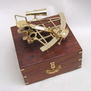India Overseas Trading BR48503 - Sextant with Wooden Case