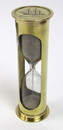 India Overseas Trading BR4864B - Brass Sand Timer Hourglass approx 5min