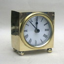 India Overseas Trading BR4867 - Brass Clock, Batteries Not Incl.