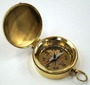 India Overseas Trading BR4884 Pocket Compass With Lid