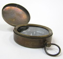 India Overseas Trading BR48850 Pocket Compass Brass Antique