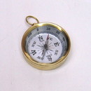 India Overseas Trading BR48852A - Pocket Compass Brass