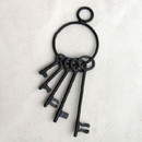 India Overseas Trading IR8012 - Iron Jailhouse Pirate Key Bunch