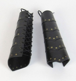 India Overseas Trading IR80727 Leather Arm Guard (L-20014), Price/Set of 2