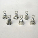India Overseas Trading SP1800 - Chrome Plated Bell, Assorted Shapes, Engraved
