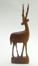 India Overseas Trading WW126 - Hand Carved Wooden Antelope Made in Africa